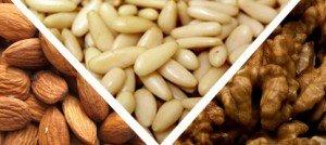 Frutta secca: benefici e proprietà nutrizionali di mandorle, pinoli e noci
