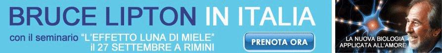 Bruce Lipton torna in Italia con L'Effetto Luna di Miele