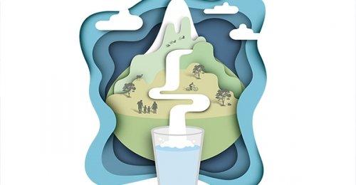 Acqua di sorgente, a casa tua, ogni giorno