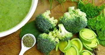 La salute con i broccoli