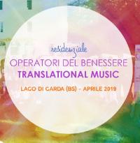 Residenziale di Translational Music per Operatori del Benessere