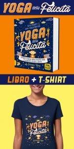 Yoga della Felicità Libro + T-shirt  M