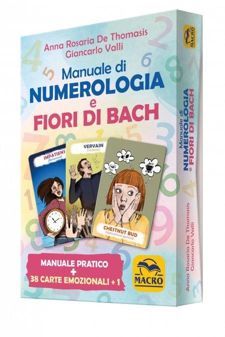 Manuale di Numerologia e Fiori di Bach - Box Carte + Libretto