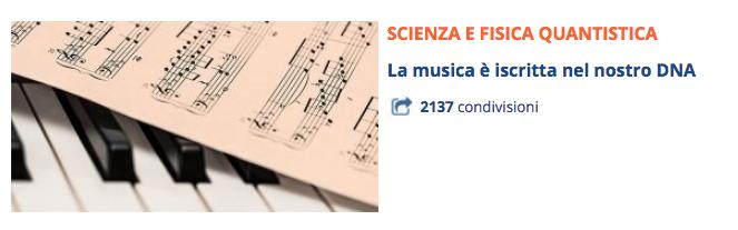 musica e DNA